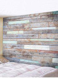 Old Plank Art Decoration Wall Tapestry -