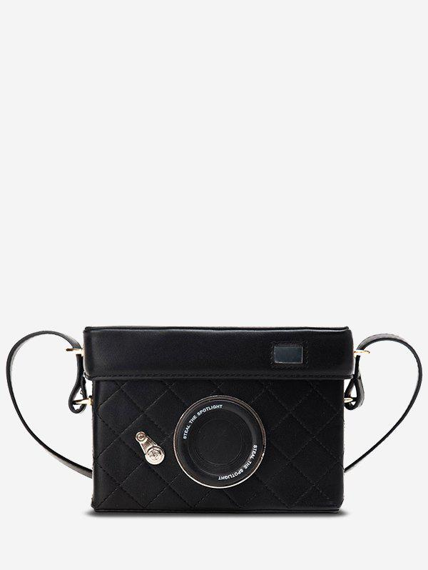 Hot Rectangle Camera Design Quilted Crossbody Bag