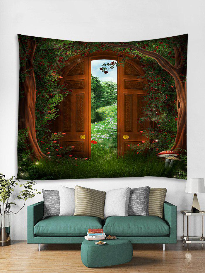 Latest Forest Gate Print Tapestry Wall Hanging Art Decoration