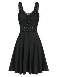 Sweetheart Collar A Line Rings Gothic Dress -