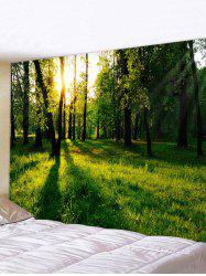 Sunshine Forest Pattern Printed Tapestry -