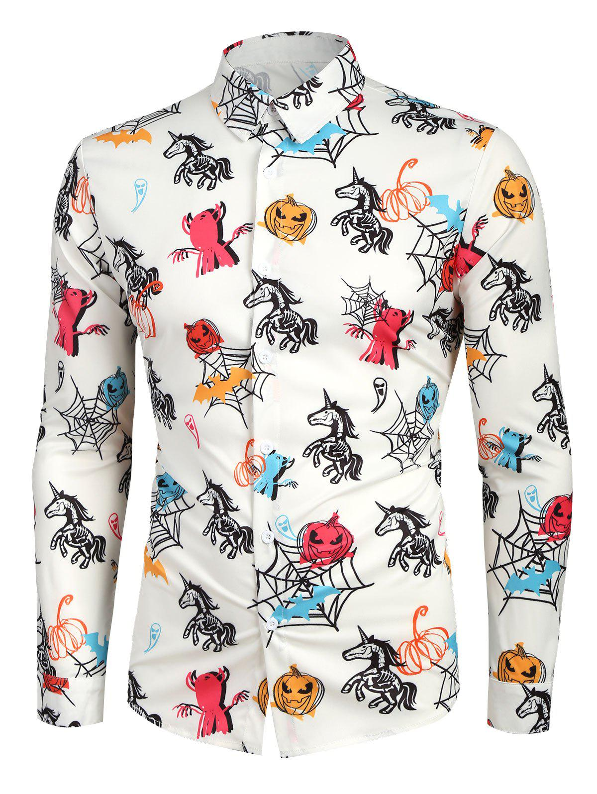 Hot Animal Printed Casual Long Sleeves Shirt