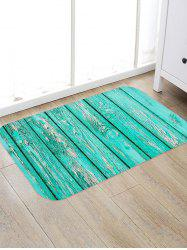 Wooden Board Pattern Water Absorption Area Rug -