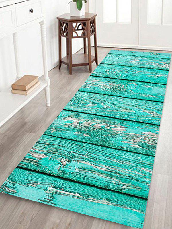 New Wooden Board Pattern Water Absorption Area Rug