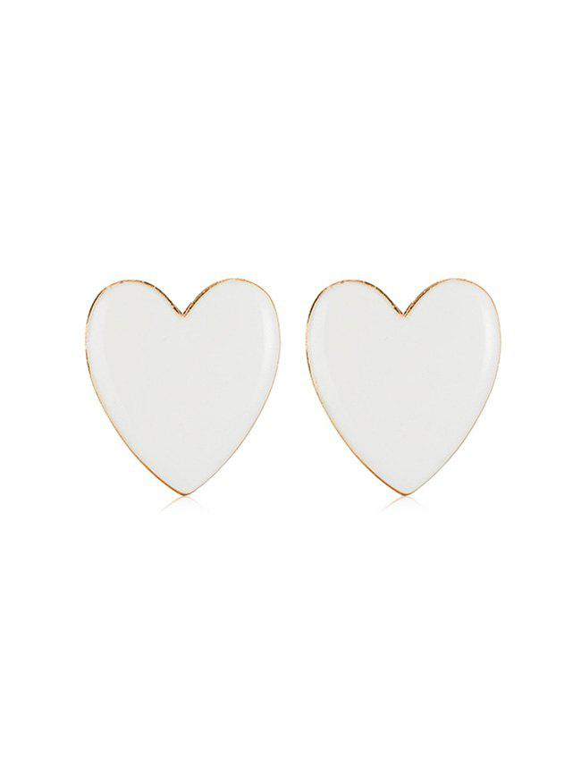 Shops Romantic Heart Shape Stud Earrings