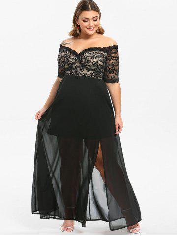 Plus Size Prom Dresses - Black, Red And Long Sleeve Cheap ...