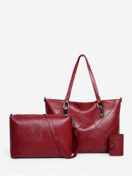 Big Retro Solid Bag Set -