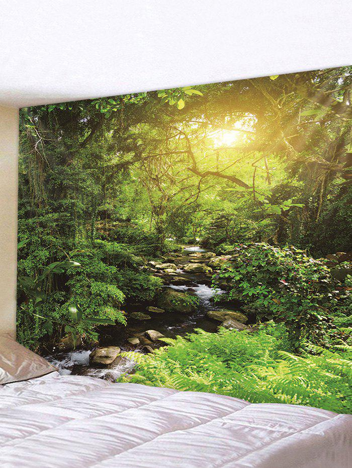 Buy Sunlight Forest Stream Print Tapestry Wall Hanging Art Decoration