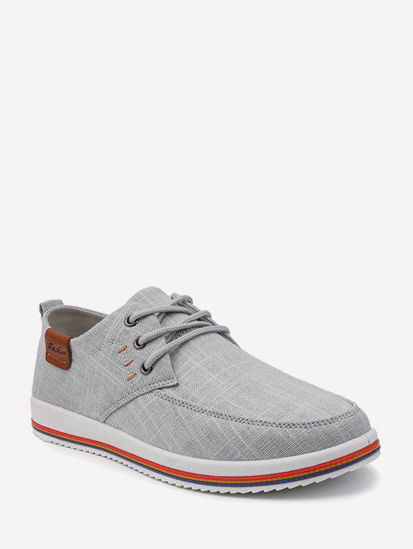 Cheap Striped Sole Cloth Casual Shoes