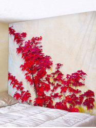 Maple Branch Print Tapestry Wall Hanging Art Decoration -