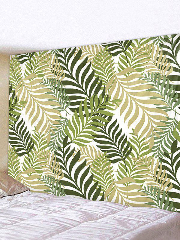 Shop Leaf Pattern Print Tapestry