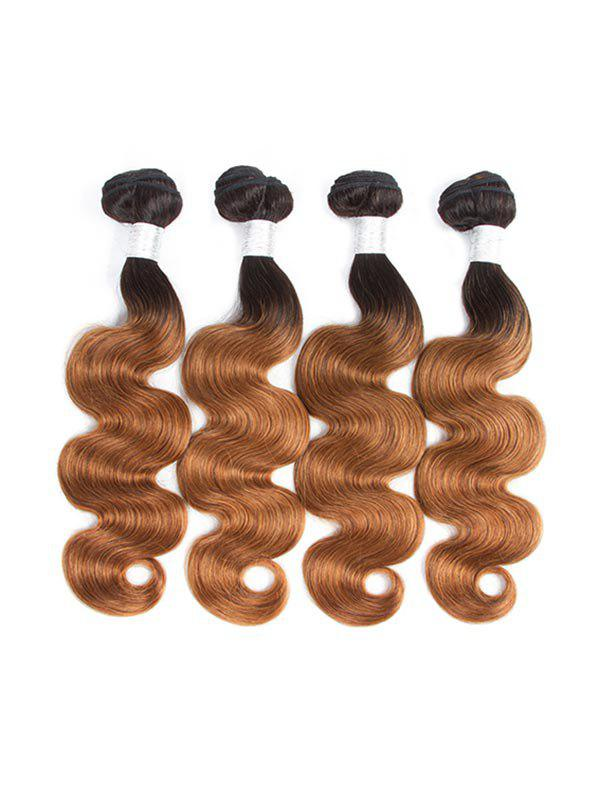 Outfits Human Remy Body Wave Ombre Hair Weft