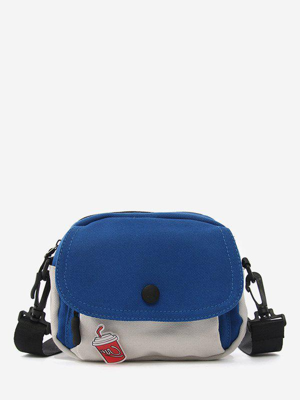 Affordable Canvas Jointed Small Crossbody Bag