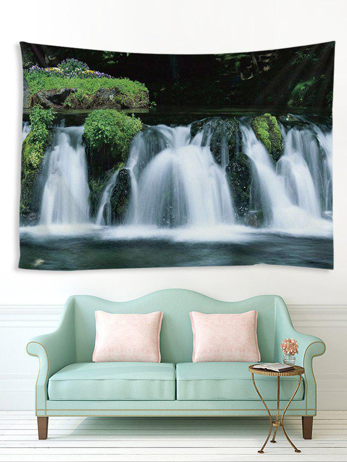 Trendy 3D Waterfall Pattern Print Tapestry