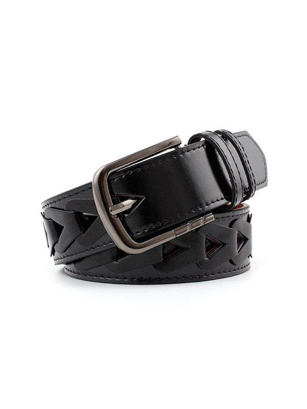 Cheap Pin Buckle Wide Triangle Hole Belt