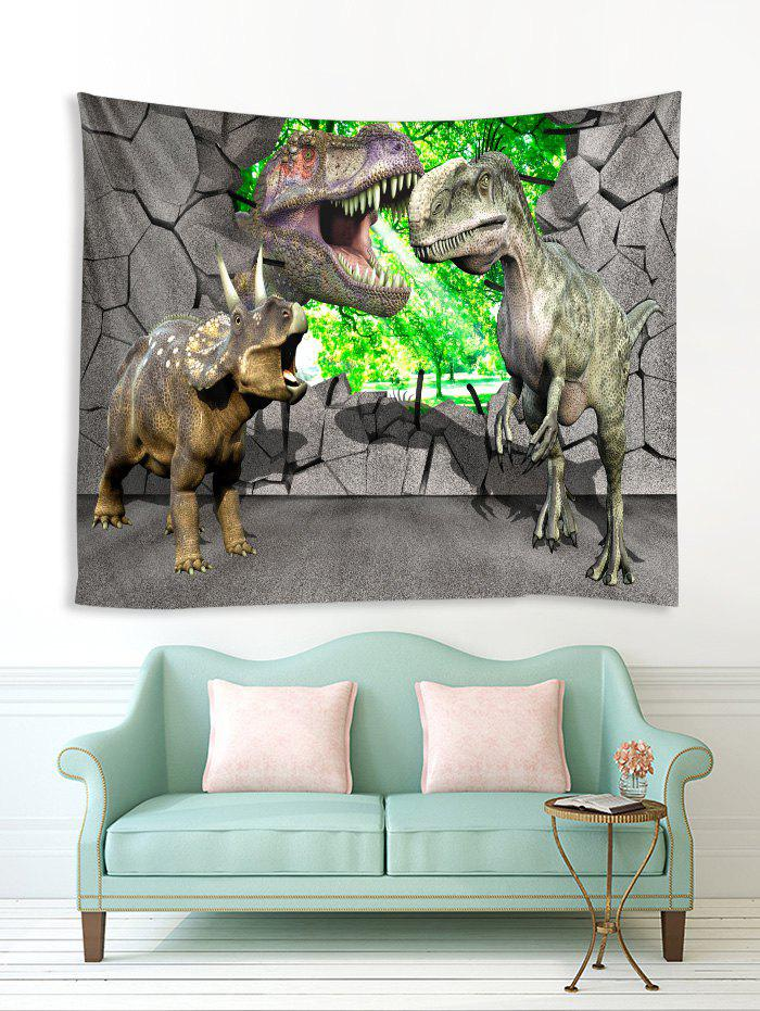 Outfits 3D Dinosaur Pattern Printed Tapestry