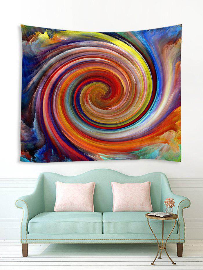 Fancy Digital Printing Oil Painting Vortex Tapestry