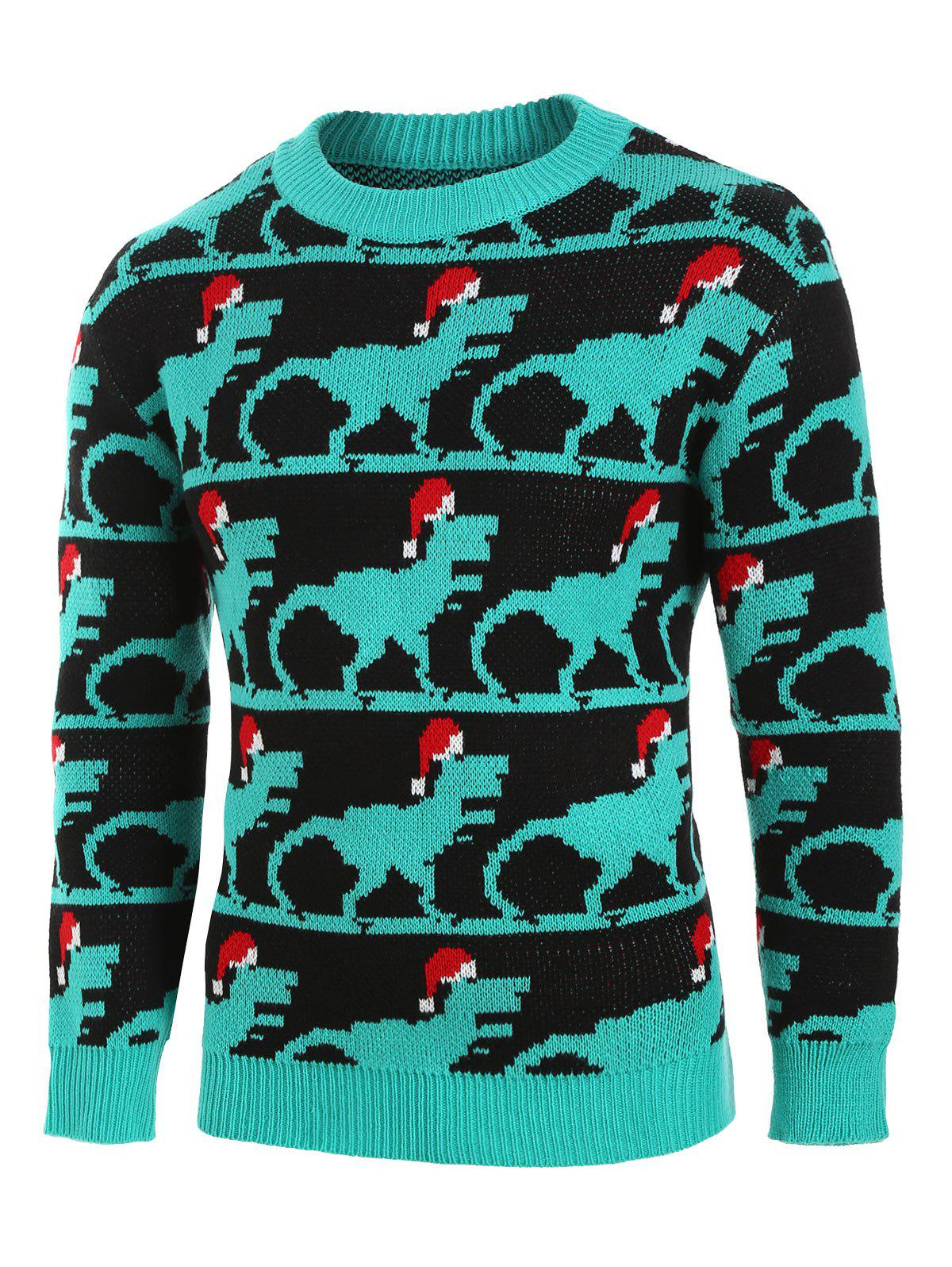 Buy Christmas Animal Pattern Knitted Sweater