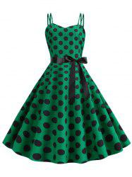 Polka Dot Cami Party Dress -