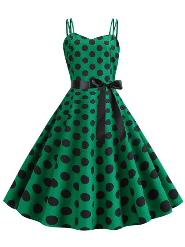 Shop Polka Dot Cami Party Dress