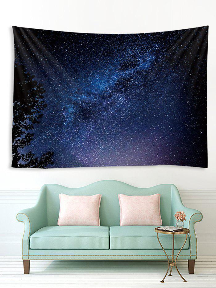 Outfits Treetop Galaxy Print Tapestry Wall Hanging Art Decoration