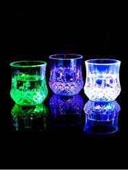 Pineapple Shape Bright Light LED Colorful Glowing Cup -
