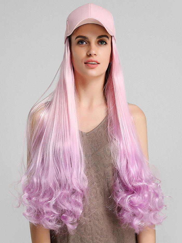 Buy Ombre Curly Long Synthetic Hat Wig