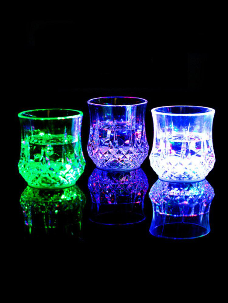 Buy Pineapple Shape Bright Light LED Colorful Glowing Cup