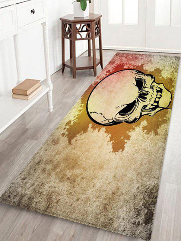 Sale Halloween Skull Pattern Printed Floor Mat