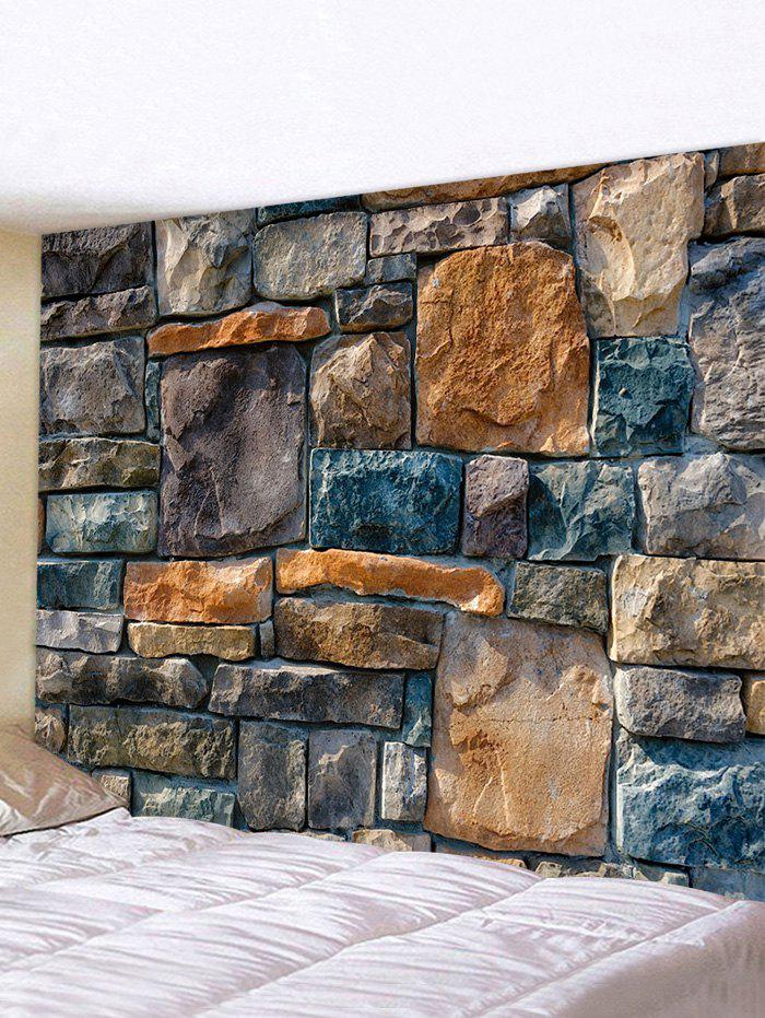 Shop 3D Rock Stone Wall Printing Home Tapestry