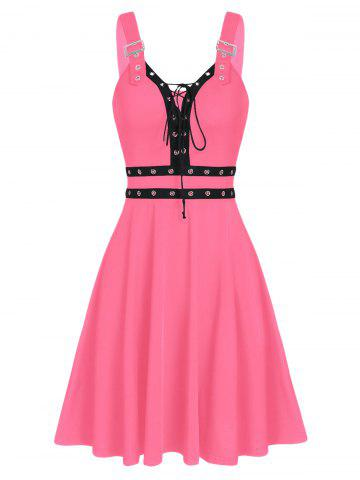Sweetheart Collar A Line Rings Gothic Dress