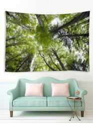 Forest Tree Sky 3D Print Wall Tapestry -