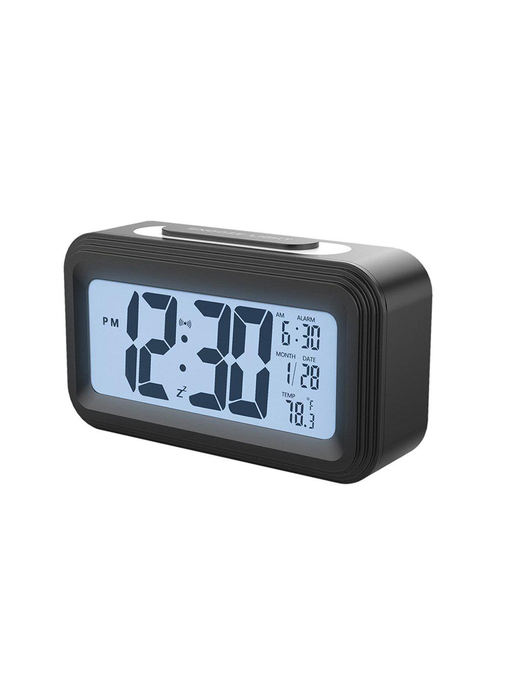 Hot Upgrade Temperature Silent Electronic LED Alarm Clock