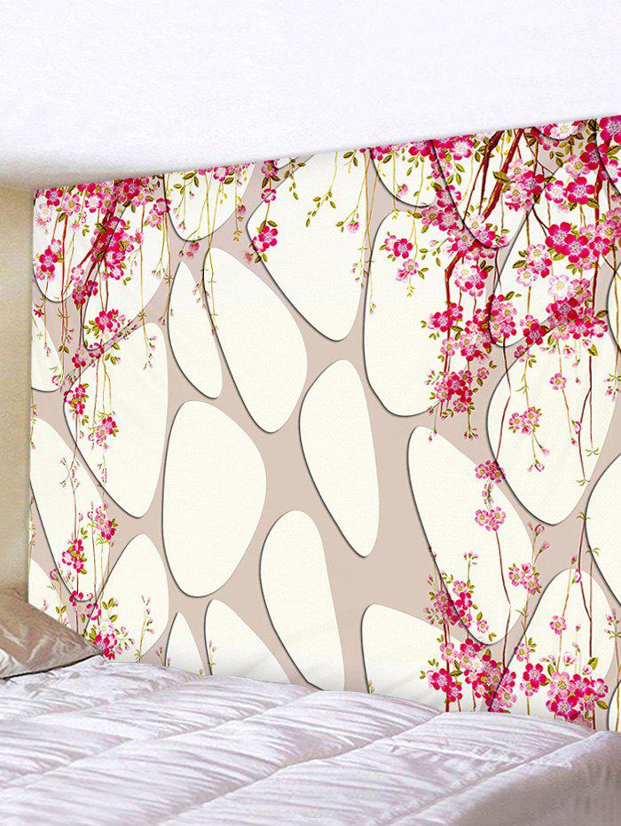 Fashion Flowers on Tree Print Art Decoration Wall Tapestry