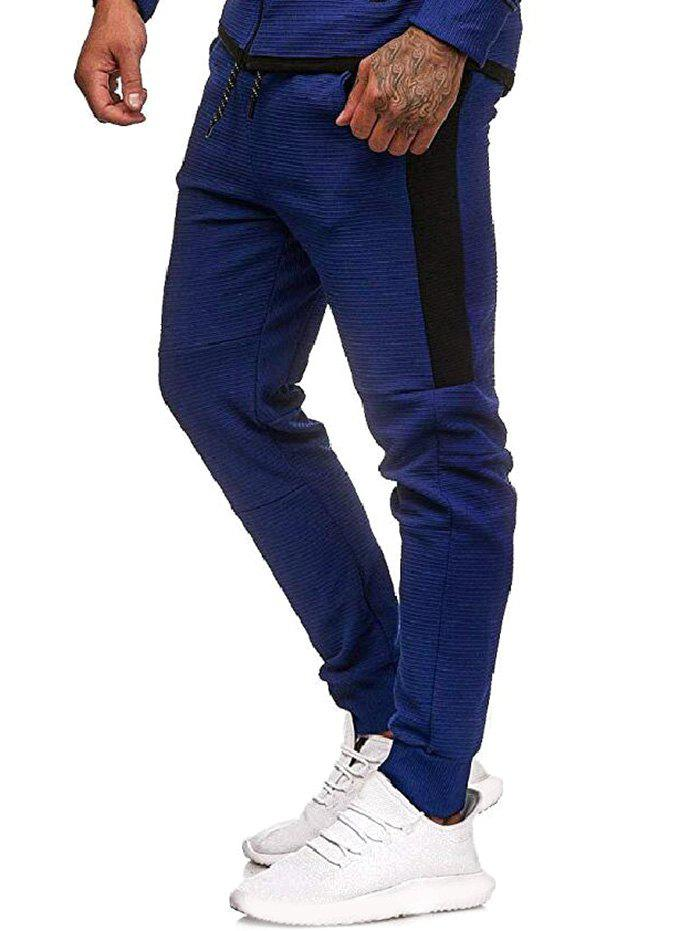 Latest Contrast Side Leisure Jogger Pants