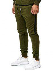 Contrast Side Leisure Jogger Pants -