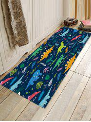 Cartoon Dinosaur Printed Floor Mat -