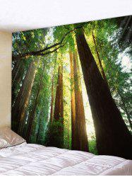 Sunshine Forest Printed Tapestry Wall Hanging Art Decoration -