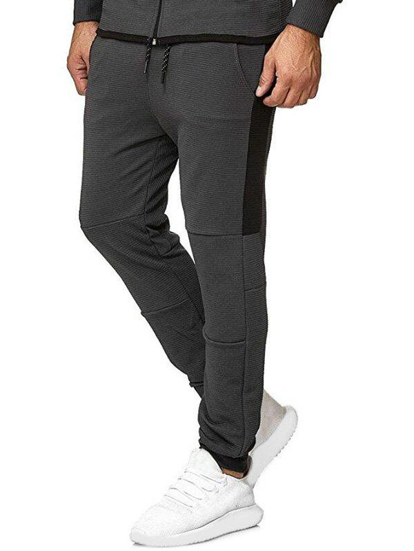 New Contrast Side Leisure Jogger Pants