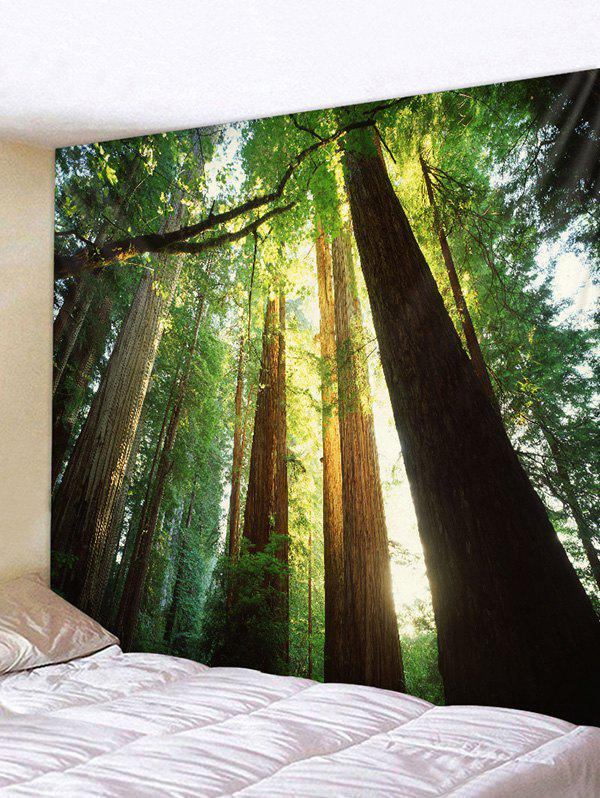 Buy Sunshine Forest Printed Tapestry Wall Hanging Art Decoration