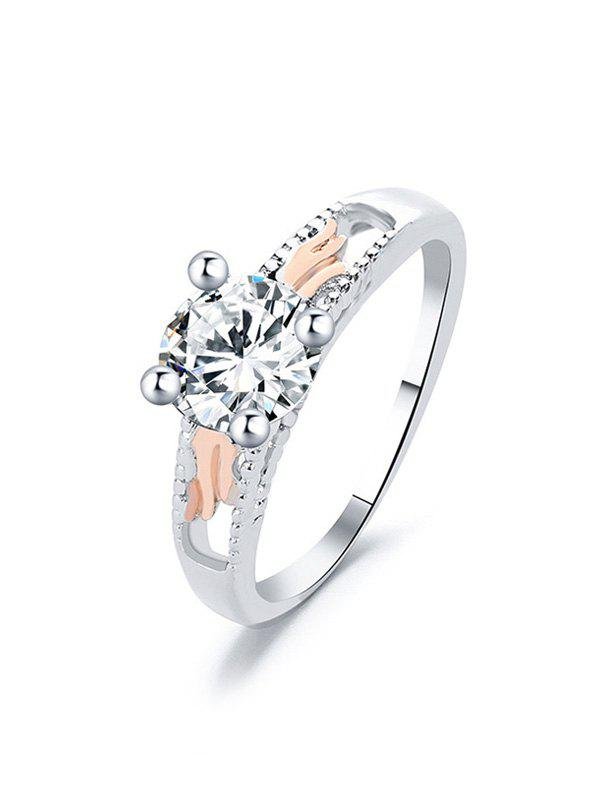 Outfits Angel Wings Zircon Ring