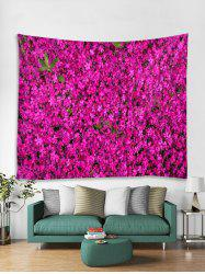 Flowers 3D Printed Decorative Wall Tapestry -