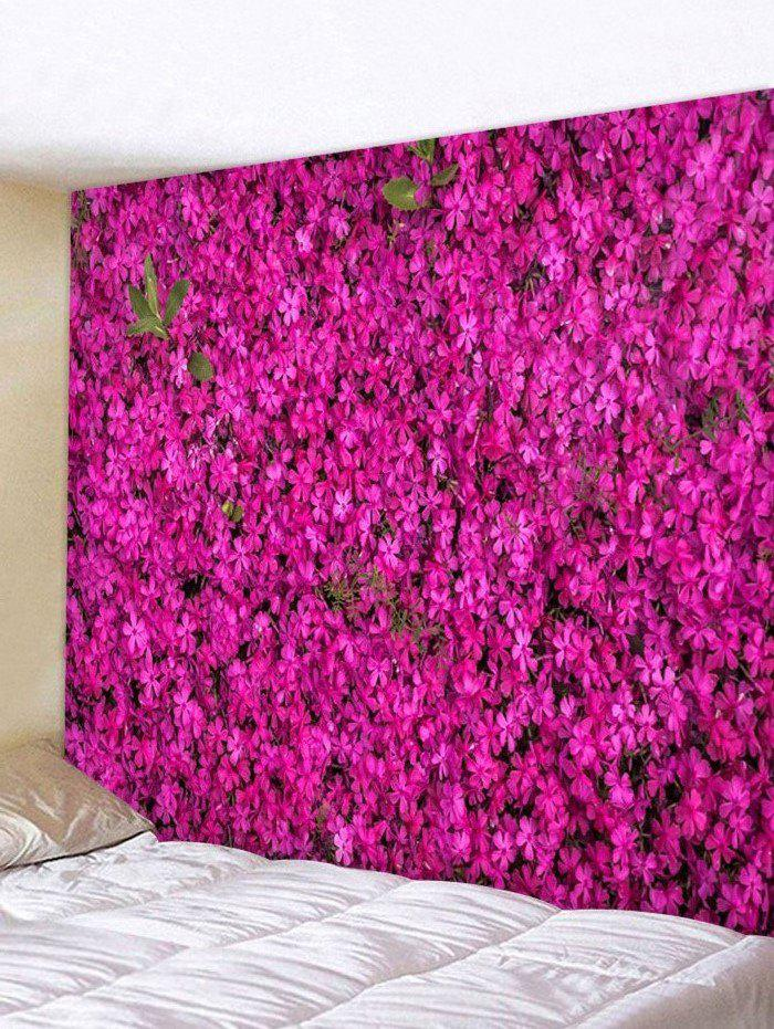 Hot Flowers 3D Printed Decorative Wall Tapestry
