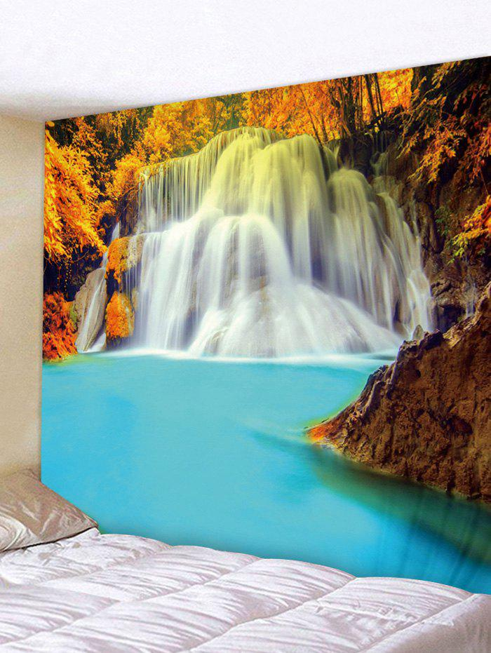 Sale Waterfall Forest Landscape Print Wall Tapestry
