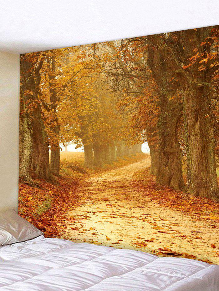 Unique Sunset Forest Path 3D Print Wall Tapestry