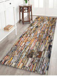 Brick Wall Printed Floor Mat -