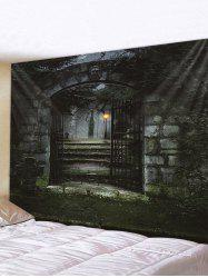 Halloween Night Gate Print Tapestry Wall Hanging Art Decoration -