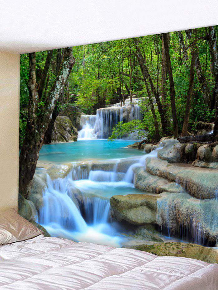 Buy Forest Stream Pattern Print Tapestry