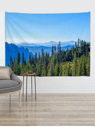 Forest Mountains Print Tapestry Wall Hanging Art Decoration -