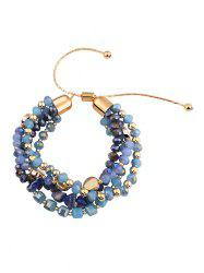 Artificial Gemstone Decoration Bracelet -
